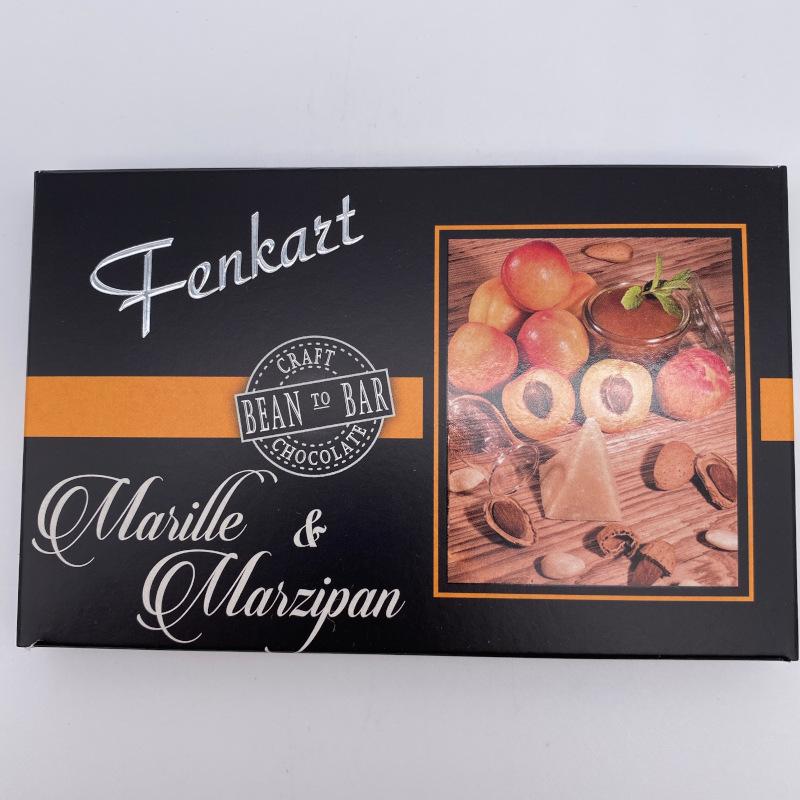 Marille und Marzipan Schokolade, Tafel 80g, Fenkart