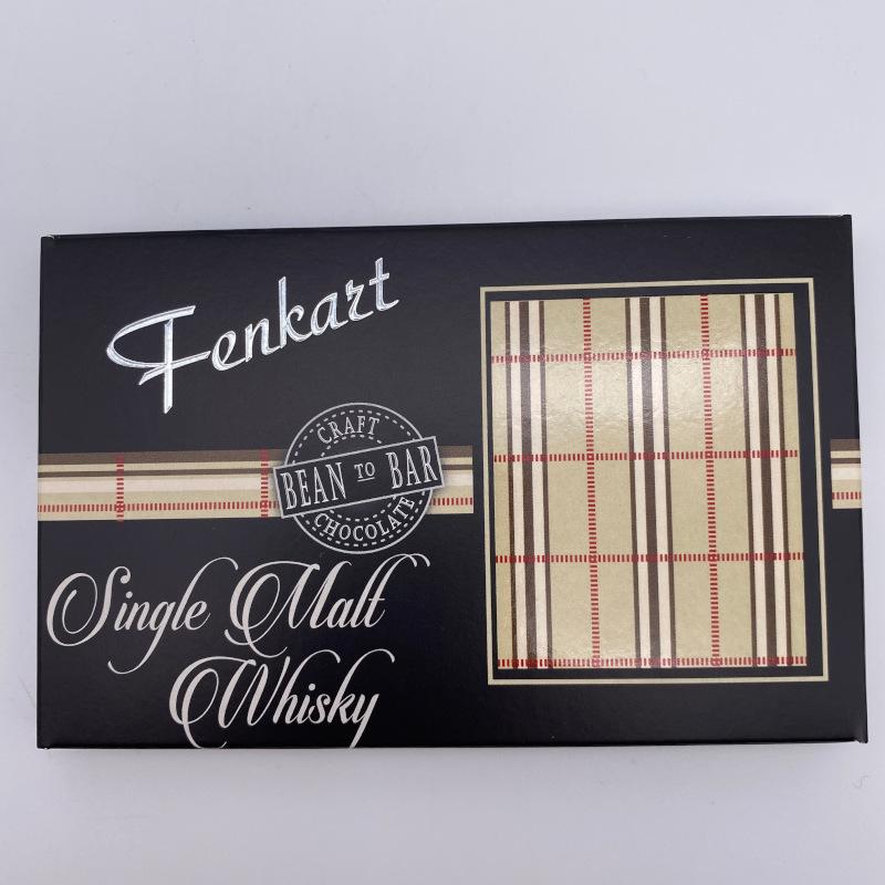 Single Malt Whisky Schokolade, Tafel 80g, Fenkart