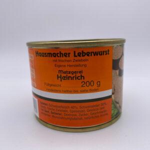 Metzgerei-Heinrich-Leberwurst-Dose-200g