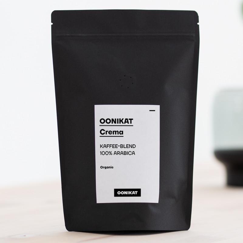 Café Créma - Kaffee Blend 100% Arabica von OONIKAT - 250g