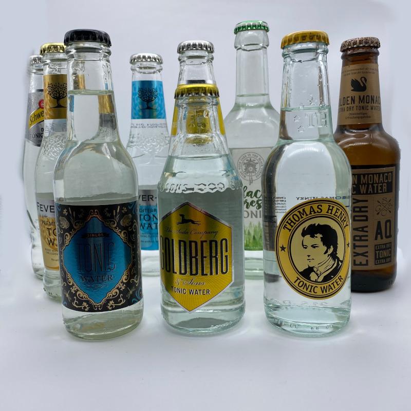 Auswahl verschiedener Tonic Water