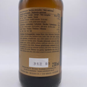 Golden-Monaco-Tonic-Water-extra-dry-230ml-Zutaten