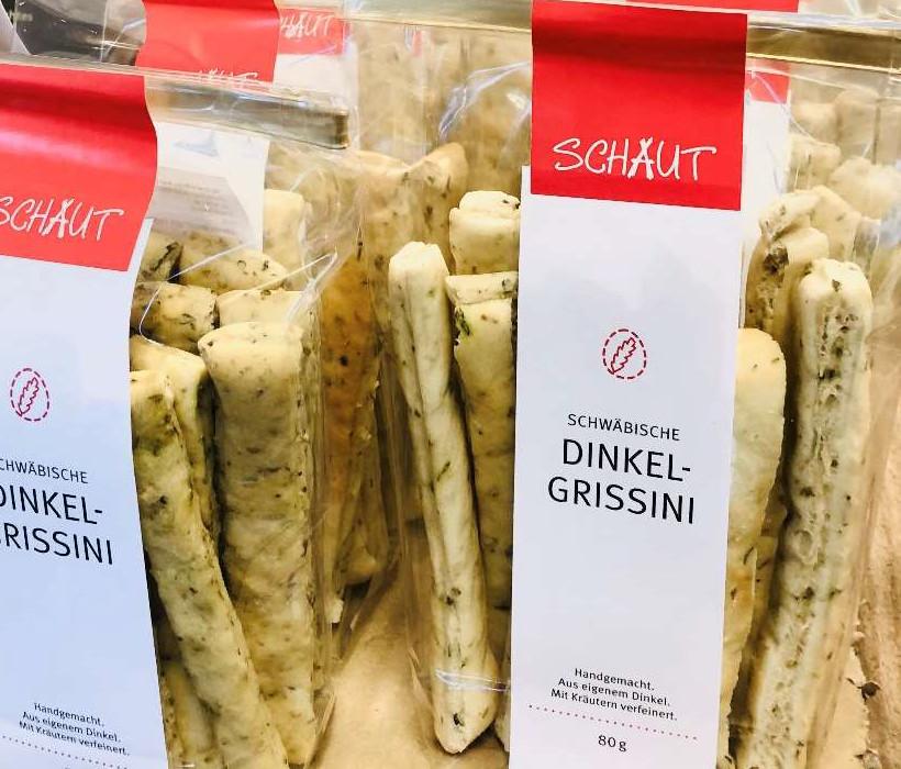 Schwäbische Dinkel-Grissini - 80g
