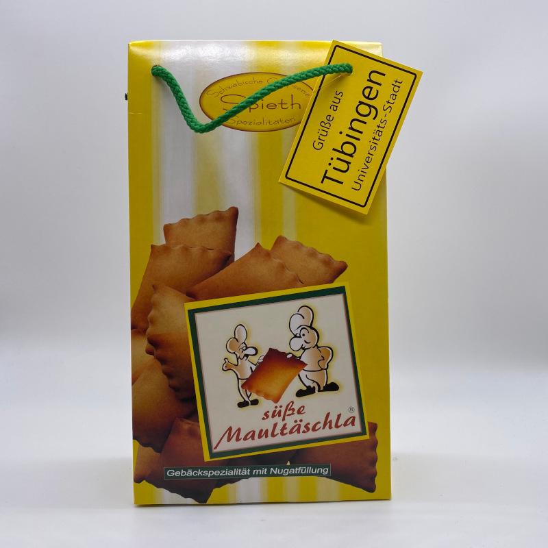 Süße Maultäschle mit Nougatfüllung, Tragtäschle 125g