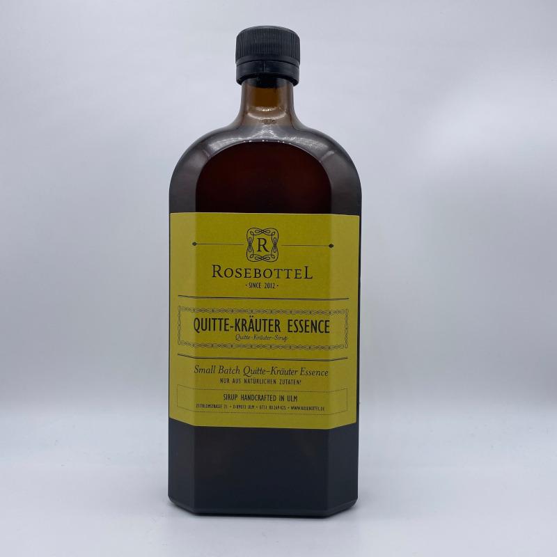 ROSEBOTTEL Quitte-Kräuter Essence, 0,5 ltr.