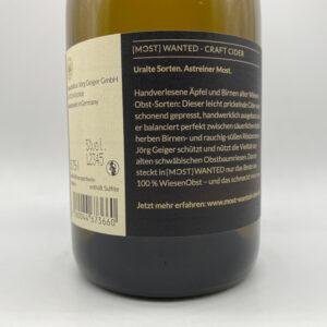Most-Wanted-Craft-Cider-0.75l-Etikett
