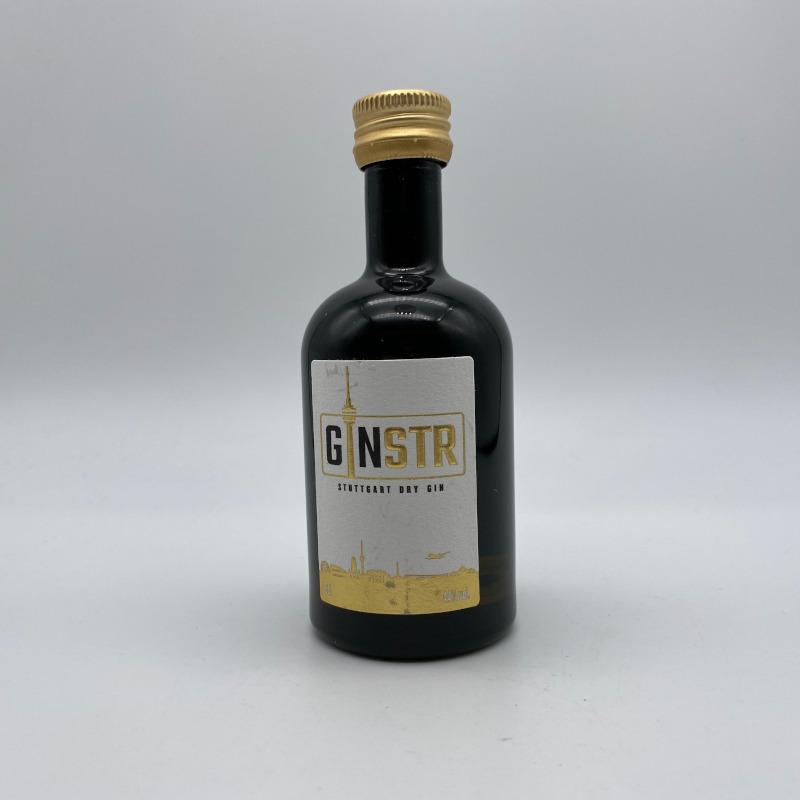 GINStr - Stuttgart Dry Gin 44% vol., Miniatur, 5cl