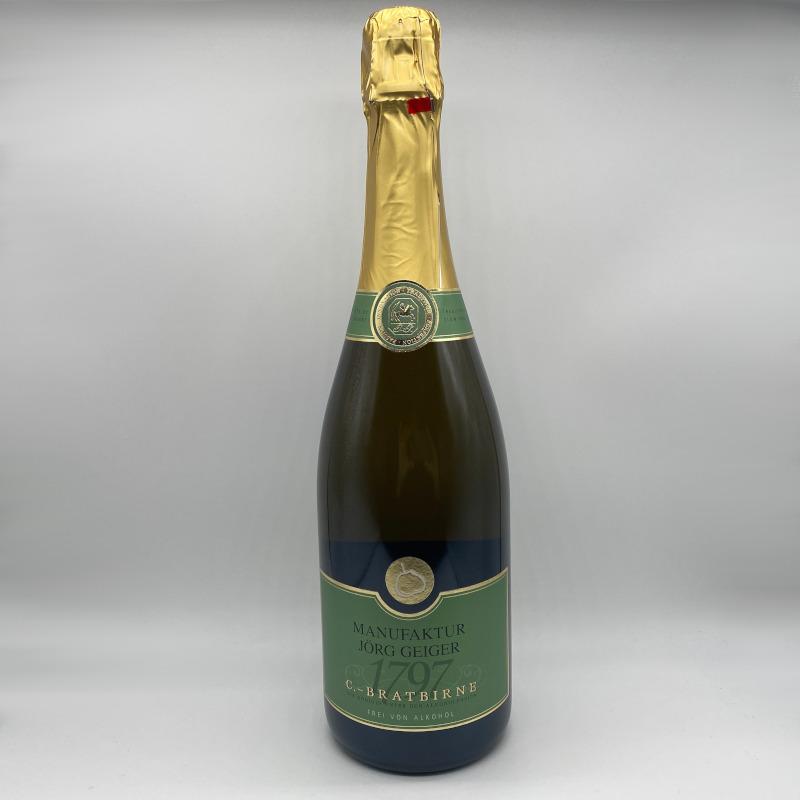 Birnenschaumwein CBB, Alkoholfrei aus der Manufaktur Geiger - 0,75 ltr.