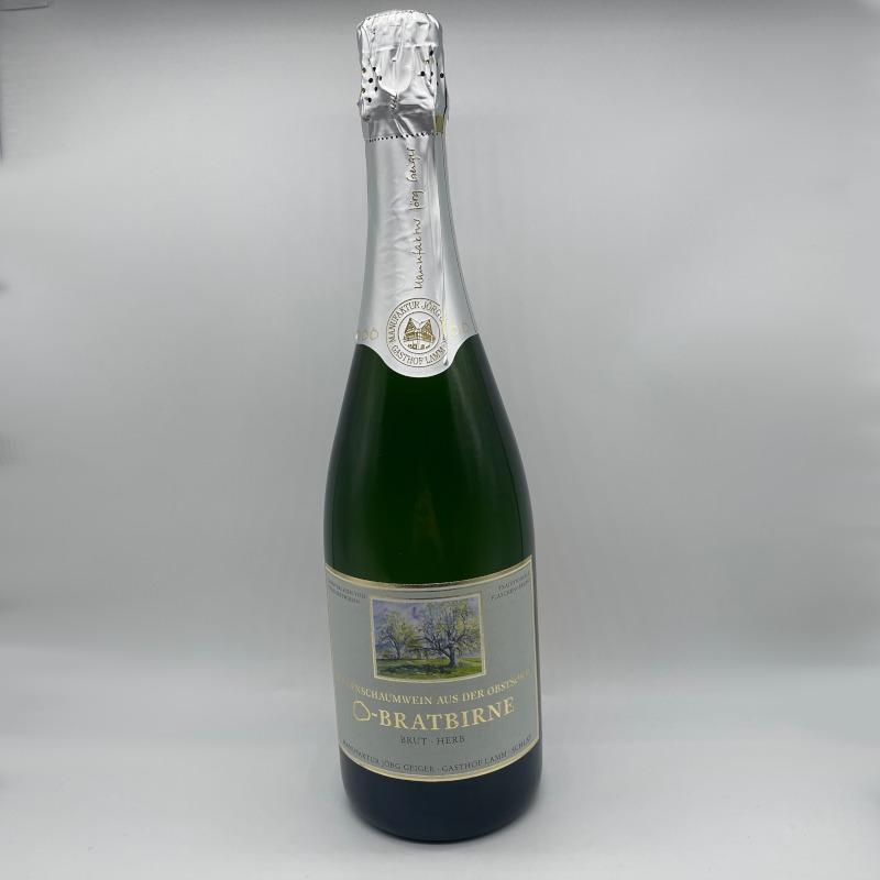 Birnenschaumwein CBB, brut, Alk. 8,5% vol.