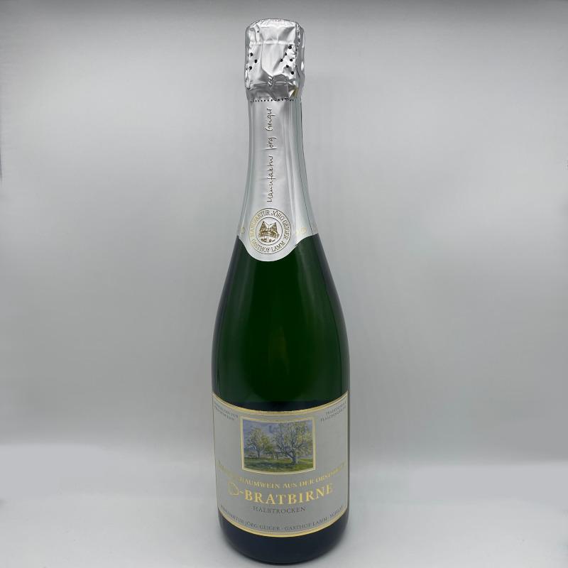 Birnenschaumwein CBB, halbtrocken, Alk. 8,0% vol.