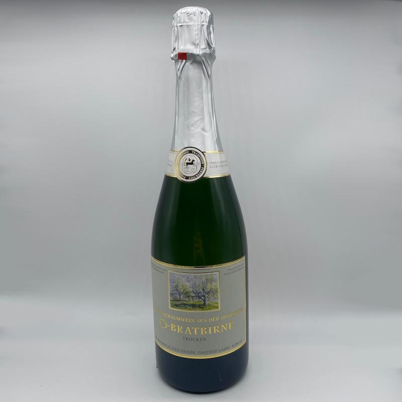 Birnenschaumwein CBB, trocken, Alk. 8,5% vol.