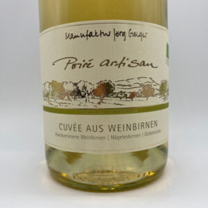 Poire-Artisan-Cuvee-aus-Weinbirnen-Etikett