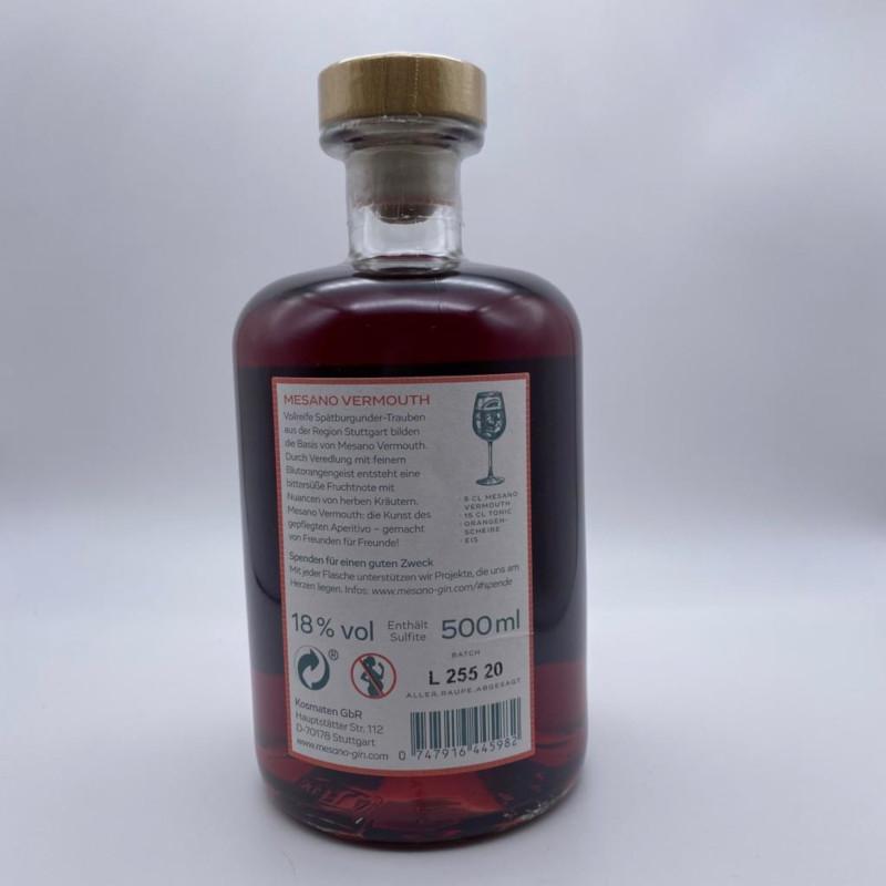 MESANO Vermouth - 18% vol., 0,5l